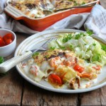 Festive Roast Pumpkin and Peppadew Pepper Lasagne