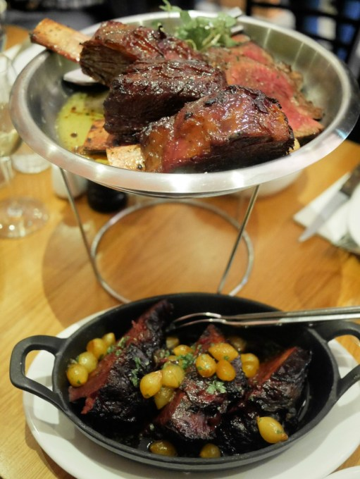 Peter Hannan Braised Ox Cheeks, Sugar Pit Beef Ribs and Chateaubriand