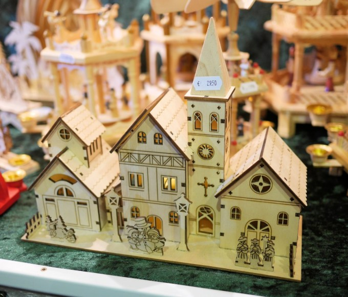 German Wooden Candle Houses