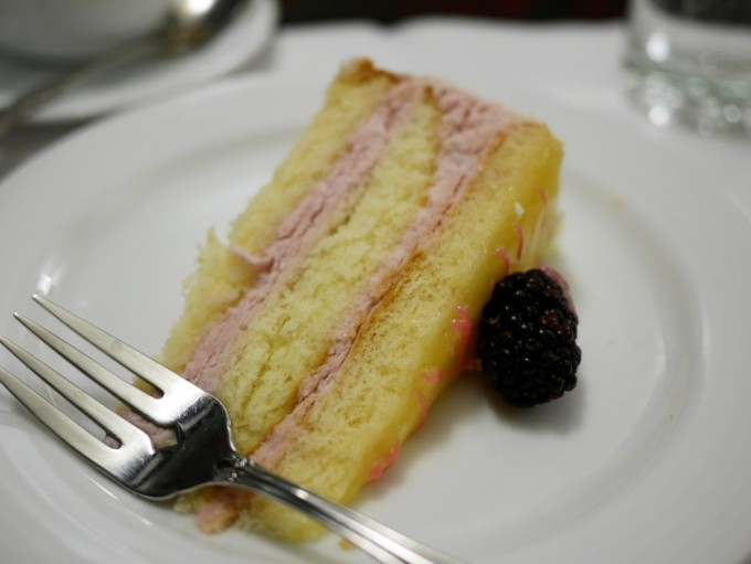 Blackberry Cream Gateau