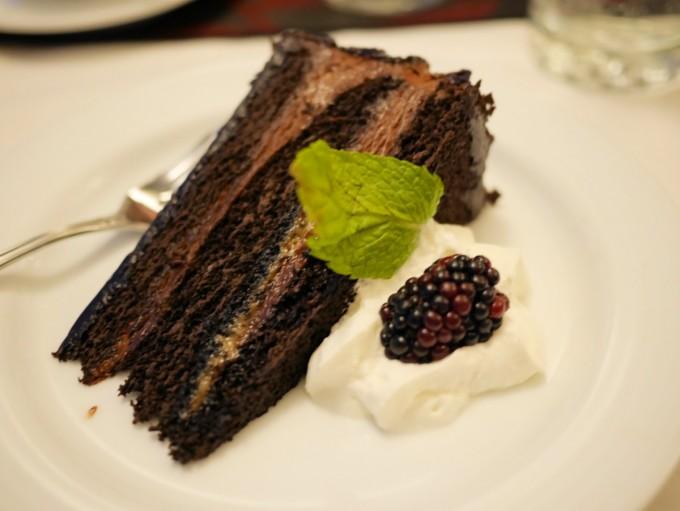 Chocolate Mint Gateau