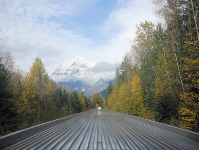 Heading towards the Rockies