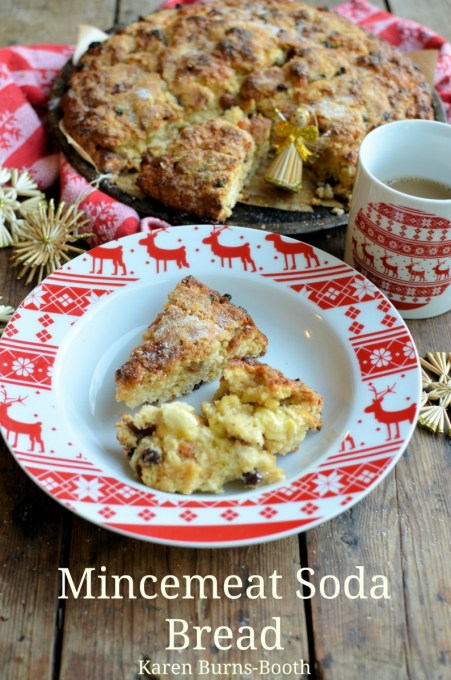 Mincemeat Soda Bread