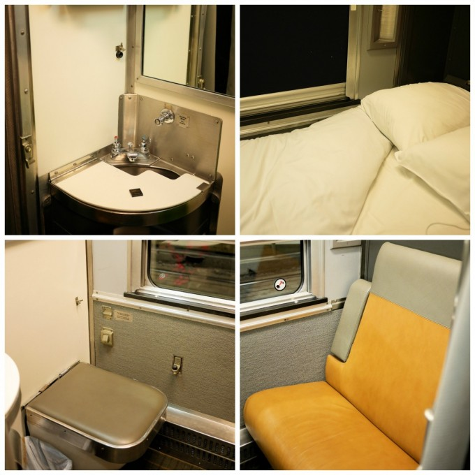 Solo Cabin on the Canadian train
