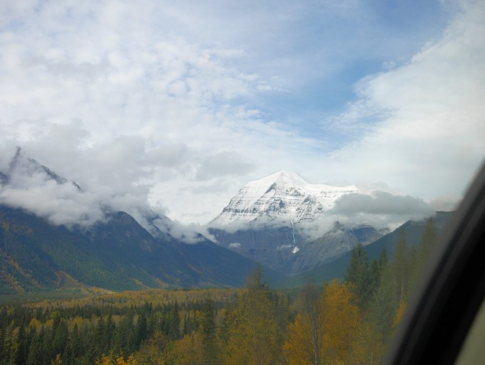 View from the Panorama Car