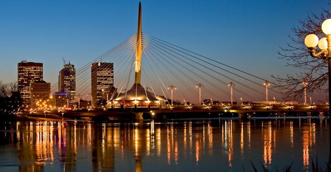 Winnipeg by Night