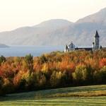 Canada, Quebec Province, Estrie Region, Saint Benoit du Lac, Benedictine Abbey founded in 1912