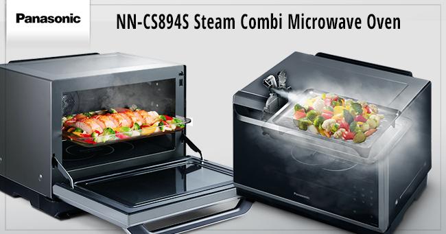 Testing the Panasonic Steam Combination Microwave - Lavender