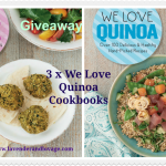 Giveaway We Love Kale and We Love Quinoa