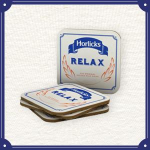 Horlicks Coasters