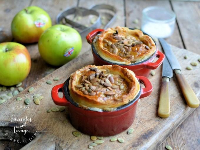 Pork, Leek and Apple Pies