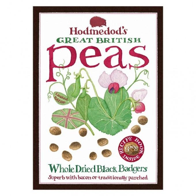 Hodmedod's Black Badger Carlin Peas