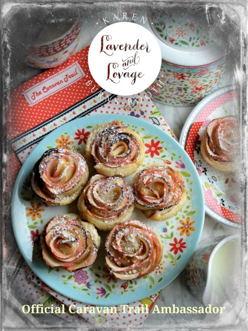 Apple Rose Tarts and The Caravan Trail Official Ambassador