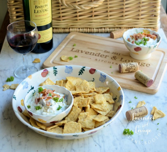 Bacon, Cheddar and Chive Cream Cheese Dip (