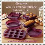 Giveaway ProCook Silicone Bakeware Set