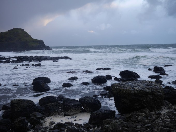 The Giant's Causeway and Storm Clodagh