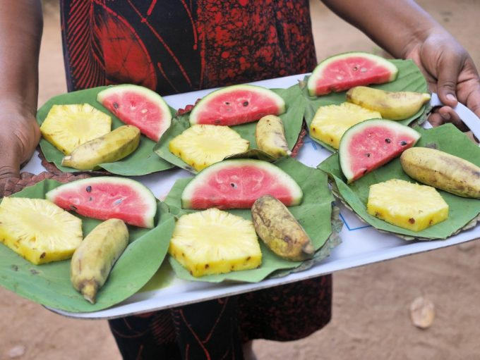 Sri Lankan Fresh Fruit Dessert