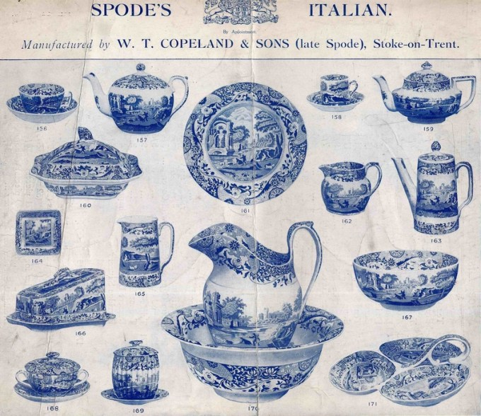 Spode 1900 Catalogue Front page