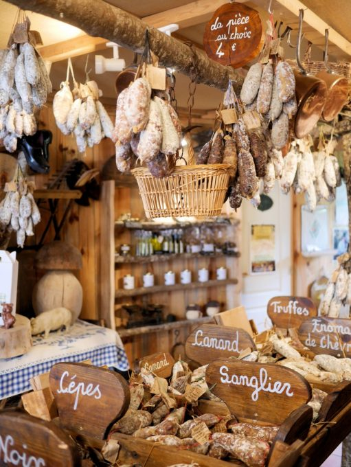 The Saucisson Shop in Rocamadour