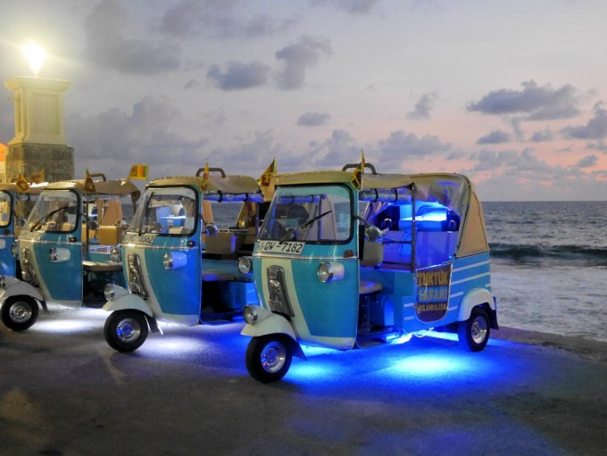 Tuk Tuk Safari by Night in Colombo