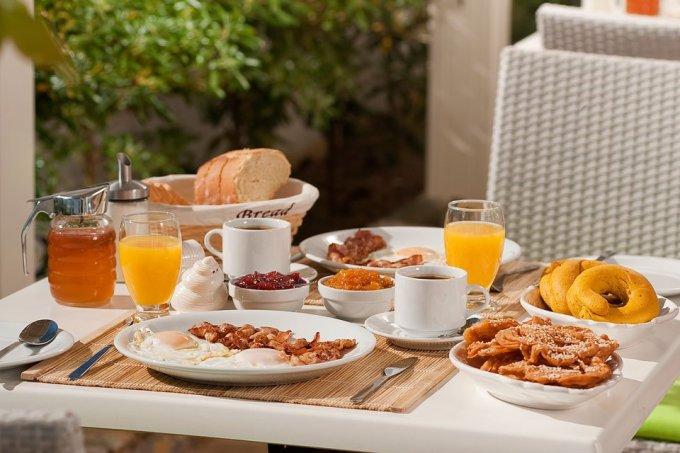 Breakfast at Andromeda Resort