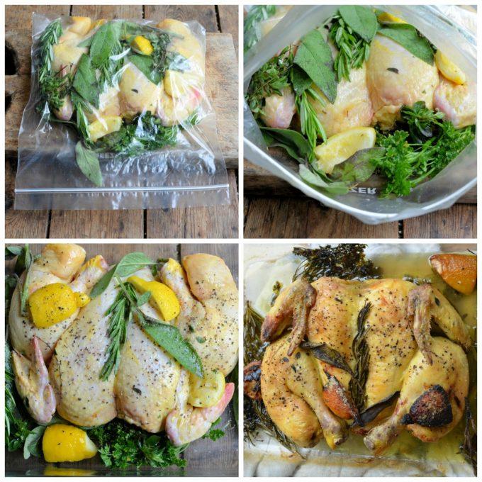 AEG Spatchcock Chicken