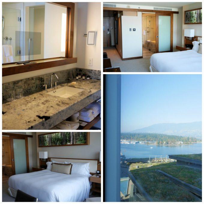 Fairmont Pacific Rim Hotel and Room