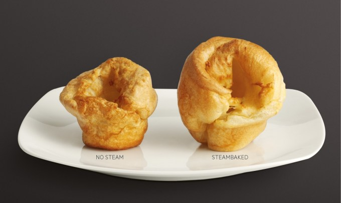 Steambaked Yorkshire Pudding