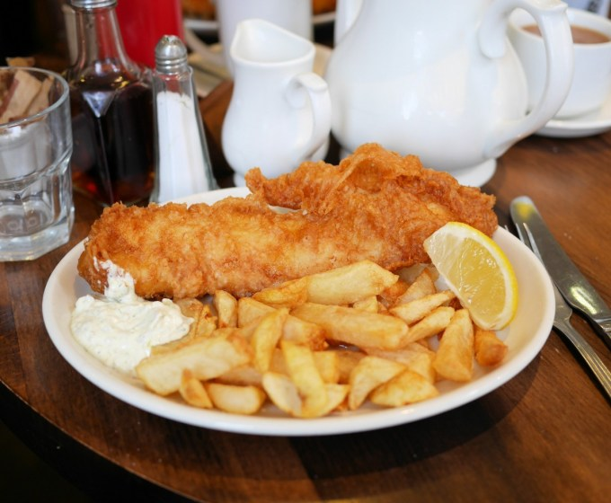 Fish and Chips in Pickering