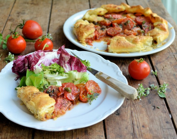 Fresh Tomato & Oregano Galette (9)