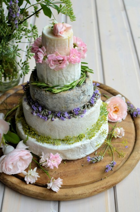 Summer French Cheese Cake Tower