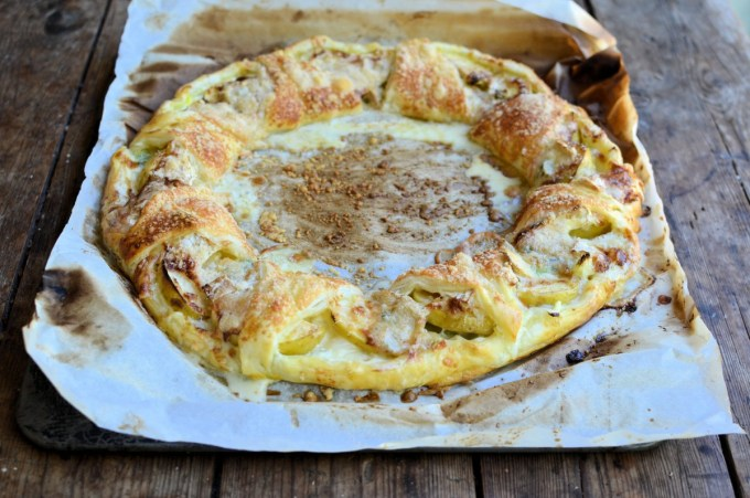 Three Cheese & Apple Puff Pastry Ring