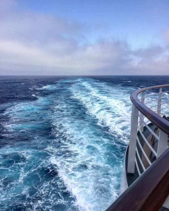 Sailing in P & O Britannia