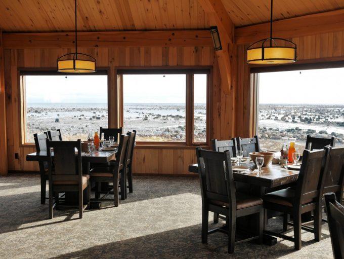 Dining Room at Seal Lodge