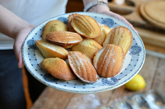 Cardamom, Honey and Lemon Madeleines