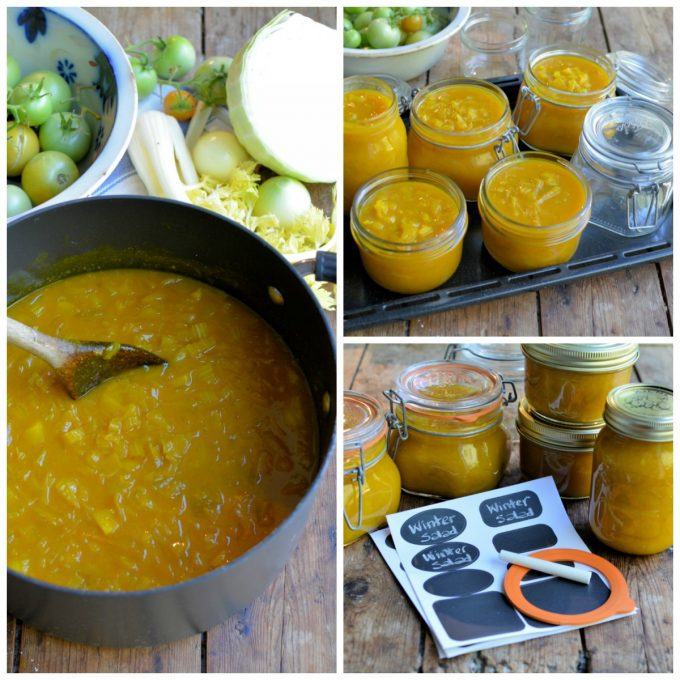 A Country Recipe: Winter Salad (Pickle)