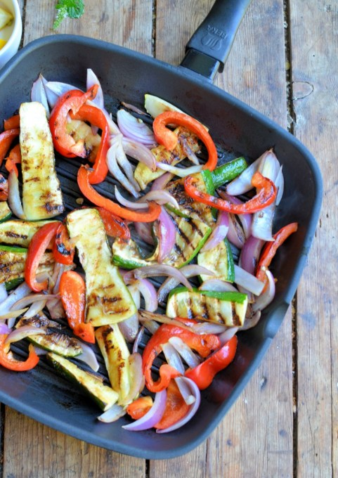 Griddled Vegetables