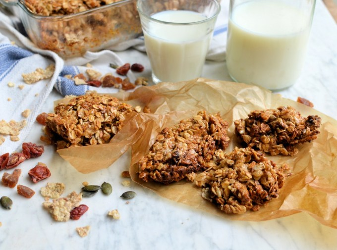 Sesame and Honey Granola Bars