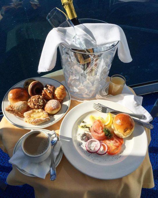 Balcony Champagne Breakfast