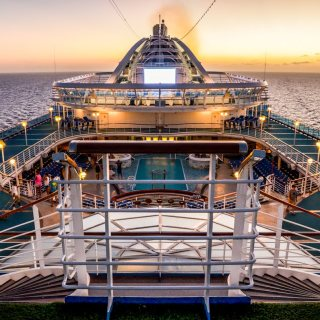 Caribbean Princess at Dusk