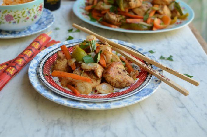 Hoisin Chicken and Pepper Stir-Fry