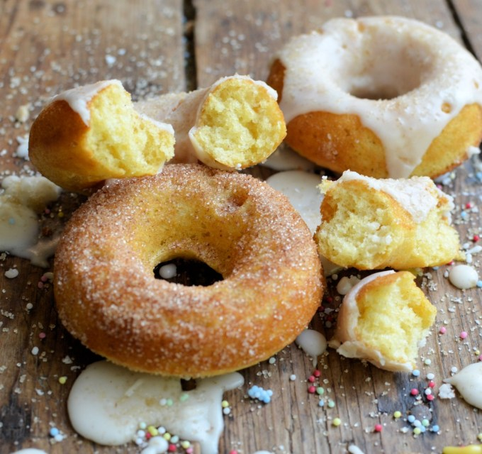 Guilt-Free Baked Doughnuts (Donuts)Three Ways!