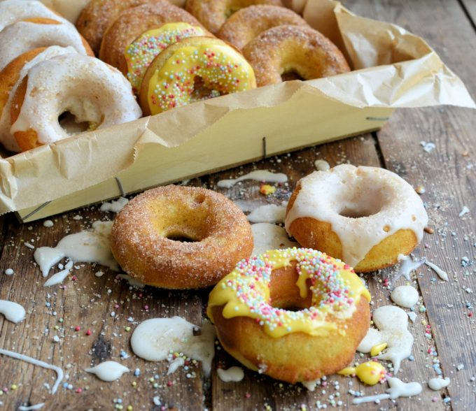 Guilt-Free Baked Doughnuts (Donuts)Three Ways!