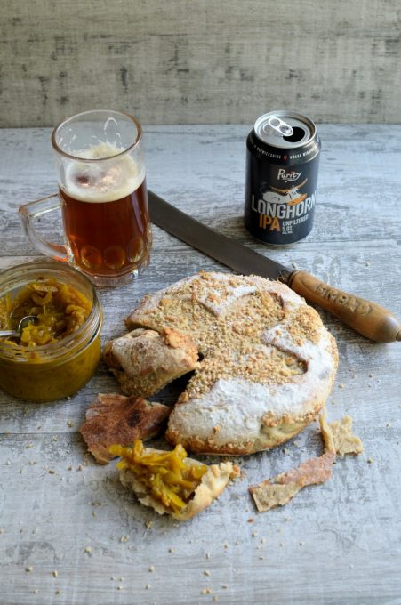 Cheese and Beer Bread