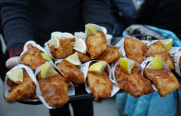 Nothing's more satisfying than some freshly battered fish when it's cold, and The Forks in Winnipeg has some of the best in Canada