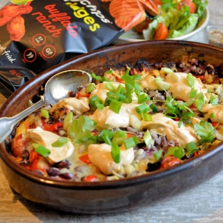 Healthy Chilli Taco Bake with Popchips