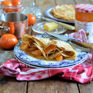 Sweet Clementine & Bitter Orange Crêpes