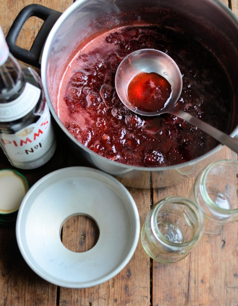 Wimbledon Pimms Strawberry Jam and Cream Scones