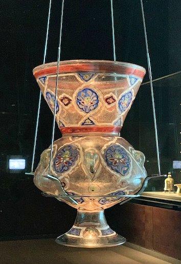 Mosque Lantern, MIA