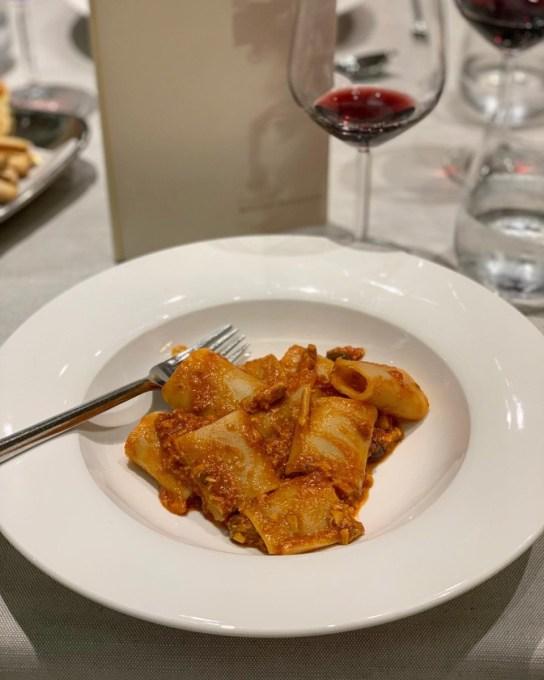 Sword Fish Pasta